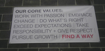 Findaway World Core Values